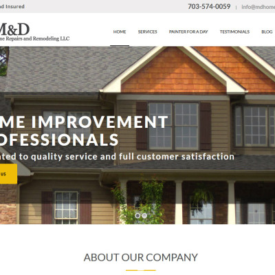 M&D Home Repairs and Remodeling LLC
